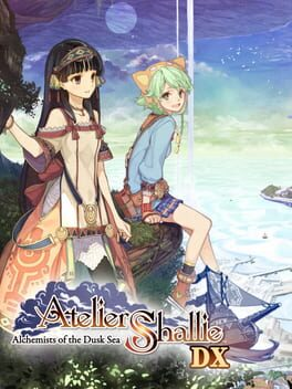 Atelier Shallie: Alchemists of the Dusk Sea DX Cover