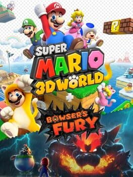 Super Mario 3D World + Bowser's Fury Cover