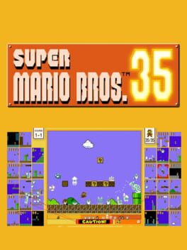 Super Mario Bros. 35 Cover