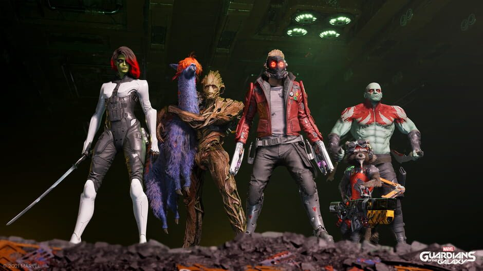 Marvel's Guardians of the Galaxy: Cosmic Deluxe Edition