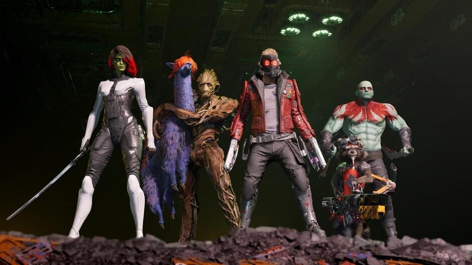 Marvel's Guardians of the Galaxy: Deluxe Edition