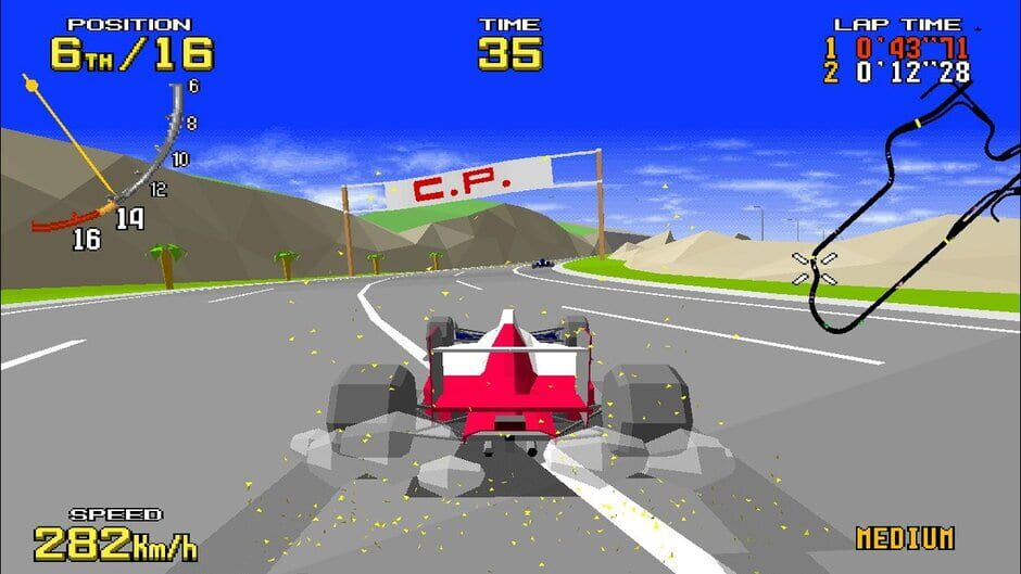 SEGA AGES VIRTUA RACING