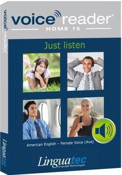 Voice Reader Home 15 Englisch-Amerikanisch - weibliche Stimme (Ava) Produktbild