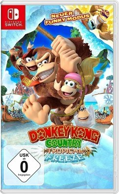 Donkey Kong Country: Tropical Freeze (Nintendo Switch) Produktbild