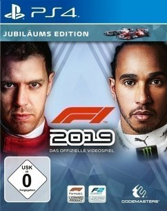 F1 2019 Jubiläums Edition (PlayStation 4) Produktbild