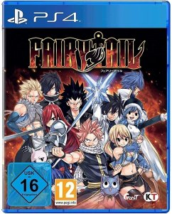 Fairy Tail (PlayStation 4) Produktbild