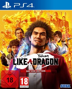 Yakuza 7: Like a Dragon - Day Ichi Edition (PlayStation 4) Produktbild