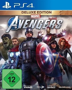 Marvel's Avengers Deluxe Edition (PlayStation 4) Produktbild