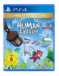 Human: Fall Flat - Anniversary Edition (PlayStation 4) Produktbild