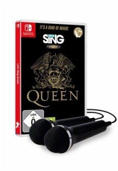 Let's Sing Queen (+ 2 Mics) (Nintendo Switch) Produktbild