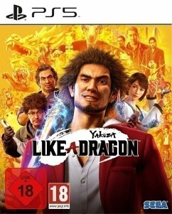 Yakuza 7: Like a Dragon (PlayStation 5) Produktbild