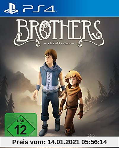 Brothers - A Tale of Two Sons - [PlayStation 4] Produktbild