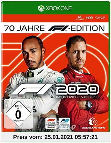 F1 2020 70 Jahre F1 Edition (XONE) Produktbild