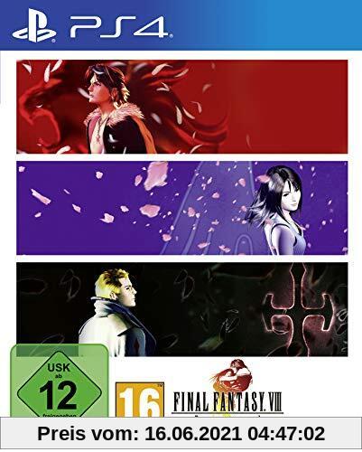 Final Fantasy VIII Remastered (PS4) Produktbild