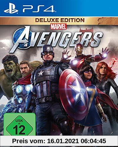 Marvel's Avengers Deluxe Edition (inkl. kostenloses Upgrade auf PS5) (PS4) Produktbild