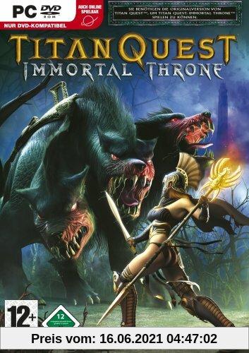 Titan Quest: Immortal Throne (Add-On) (DVD-ROM) Produktbild
