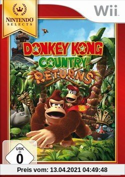 Donkey Kong Country Returns [Nintendo Selects] Produktbild