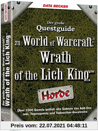 World of Warcraft - Questguide: Wrath of the Lich King (Horde) Produktbild