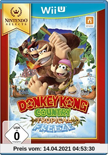 Donkey Kong Country: Tropical Freeze - Nintendo Selects - [Wii U] Produktbild