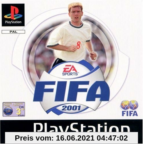 Fifa 2001 Playstation Produktbild