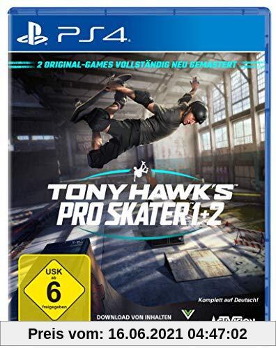 TONY HAWK´S Pro Skater 1+2 Standard Edition - [PlayStation 4] Produktbild
