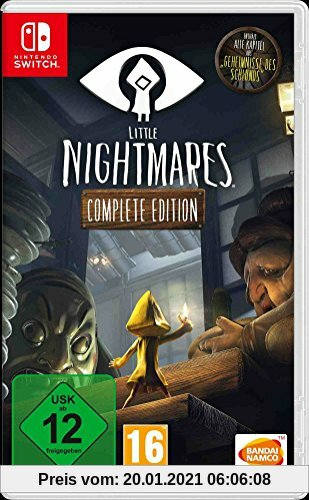Little Nightmares - Complete Edition - [Nintendo Switch] Produktbild