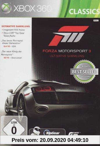 Forza Motorsport 3 (Ultimative Sammlung) Produktbild