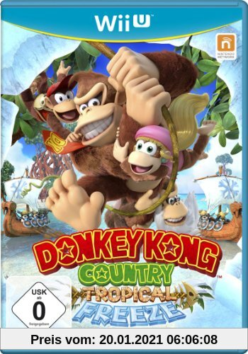 Donkey Kong Country: Tropical Freeze Produktbild