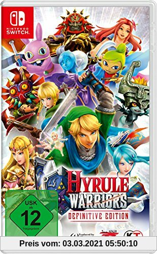 Hyrule Warriors Definitive Edition - [Nintendo Switch] Produktbild