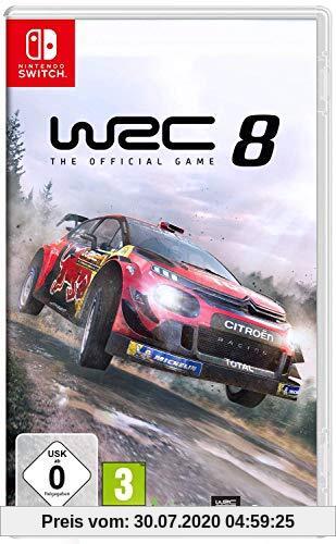 WRC 8 - World Rally Championship 8 SWITCH Produktbild