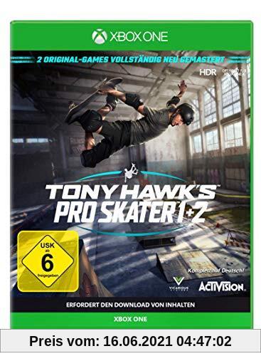 TONY HAWK´S Pro Skater 1+2 Standard Edition - [Xbox One] Produktbild
