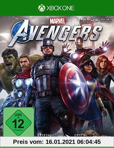 Marvel's Avengers (inkl. kostenloses Upgrade auf Xbox Series X) (XONE) Produktbild