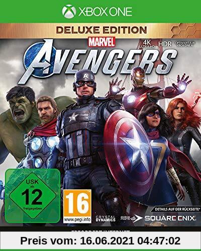 Marvel's Avengers Deluxe Edition (inkl. kostenloses Upgrade auf Xbox Series X) (XONE) Produktbild