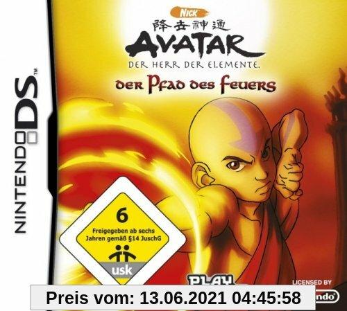 Avatar: Der Herr der Elemente - Der Pfad des Feuers Produktbild