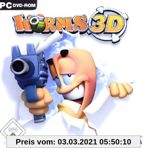 Worms 3D (Software Pyramide) Produktbild