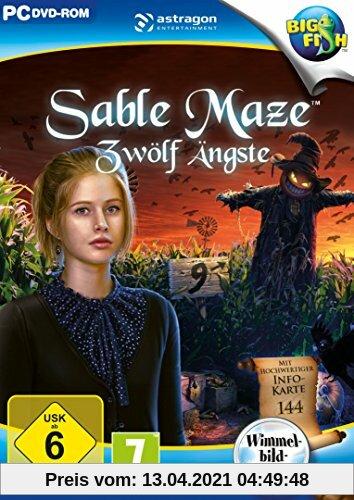 Sable Maze: Zwölf Ängste - [PC] Produktbild