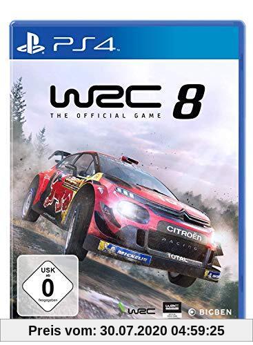 WRC 8 Produktbild