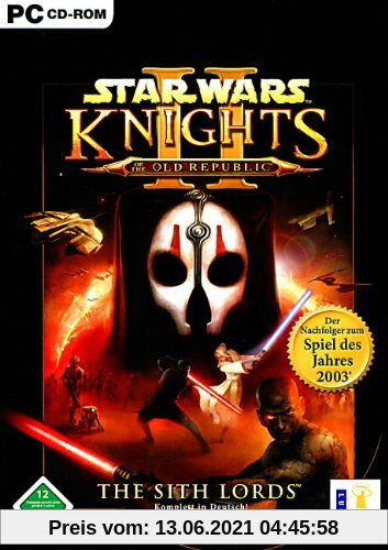 Star Wars - Knights of the Old Republic 2: The Sith Lords Produktbild