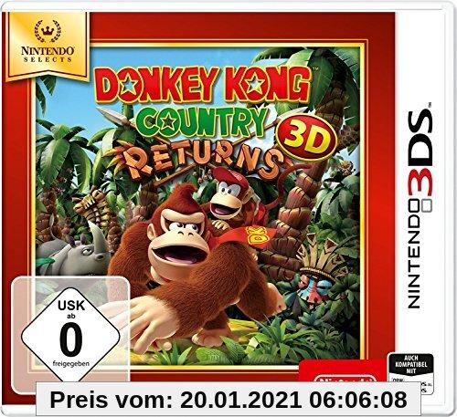 Donkey Kong Country Returns 3D - Nintendo Selects - [3DS] Produktbild