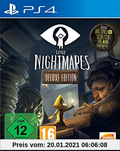 Little Nightmares  - Deluxe Edition - [Playstation 4] Produktbild
