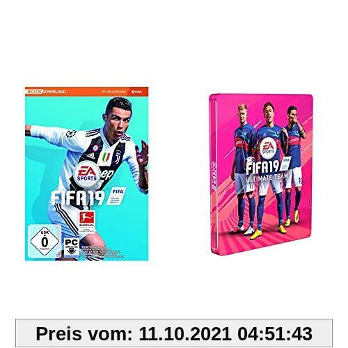 FIFA 19 - Standard Edition inkl. Steelbook - [PC] (Code in der Box) Produktbild