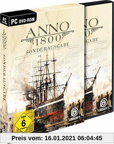 Anno 1800 Sonderausgabe (inkl. Soundtrack und Lithographien) - [PC] Produktbild