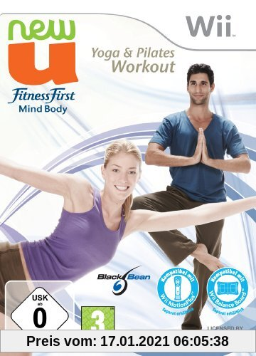 New U - Fitness First Mind Body Yoga & Pilates Workout Produktbild