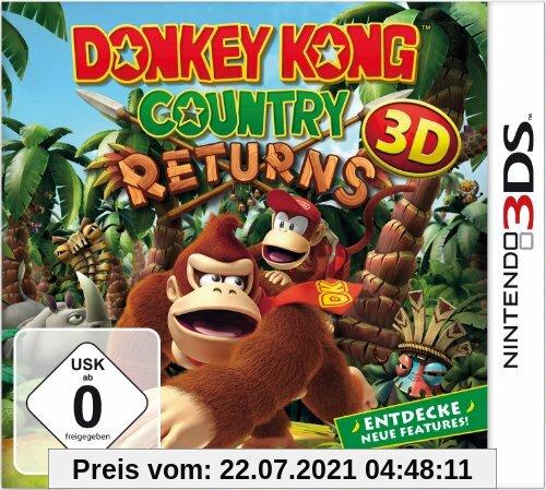 Donkey Kong Country Returns 3D Produktbild