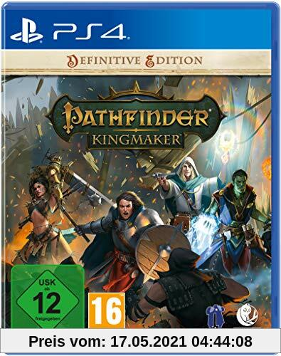 Pathfinder: Kingmaker Definitive Edition (Playstation 4) Produktbild