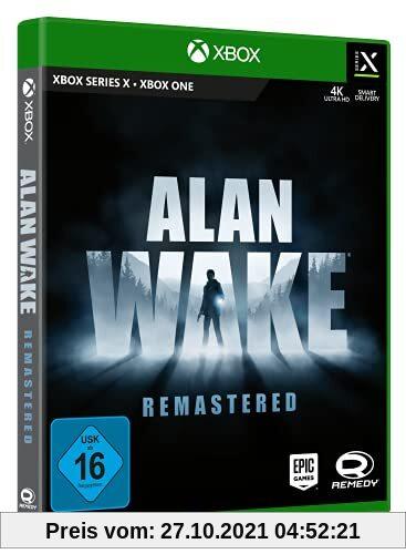 Alan Wake Remastered - XBX Produktbild