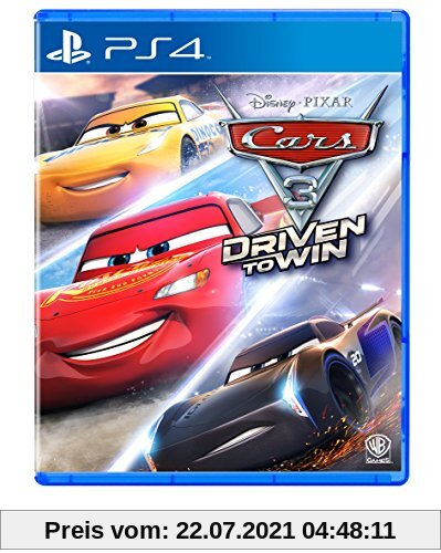Cars 3: Driven To Win - [Playstation 4] Produktbild