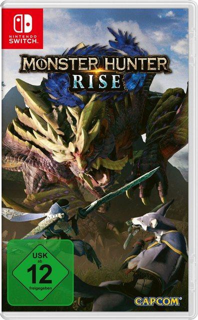 Monster Hunter Rise Nintendo Switch Produktbild