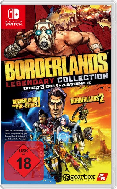 Borderlands Legendary Collection Nintendo Switch Produktbild