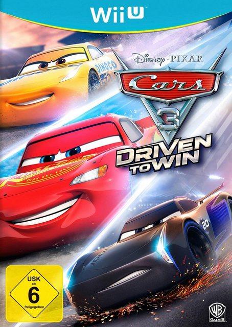 Cars 3: Driven to Win Nintendo Wii U, Software Pyramide Produktbild